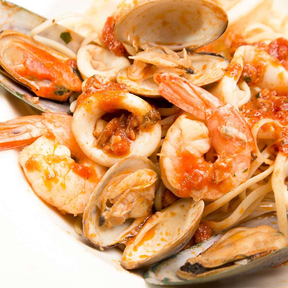 Middlesex New Jersey Italian Restaurant - Seafood Combo Shrimp Clams Mussels